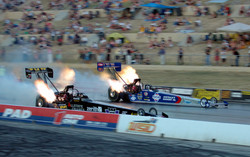 Highlight for Album: Nitro Thunder, Aus vs USA at Western Suburbs International Dragway
